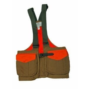 Boyt Harness Company, Waxed Cotton Strap Vest with Mesh Back