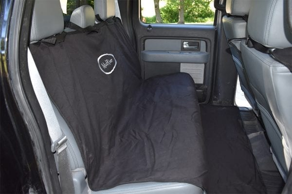 Mud River Two Barrel Double Seat Cover Black
