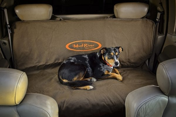Mud River Two Barrel Double Seat Cover Cattle Dog