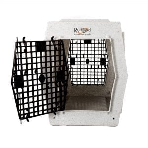 Ruff Land Kennels Large Double Door Dog Kennel