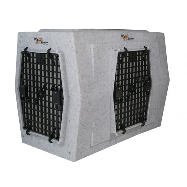 Ruff Land Kennels Large Double Door Right Side Entry Dog Kennel