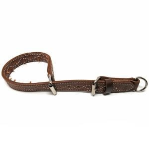 Leather Pinch Collar